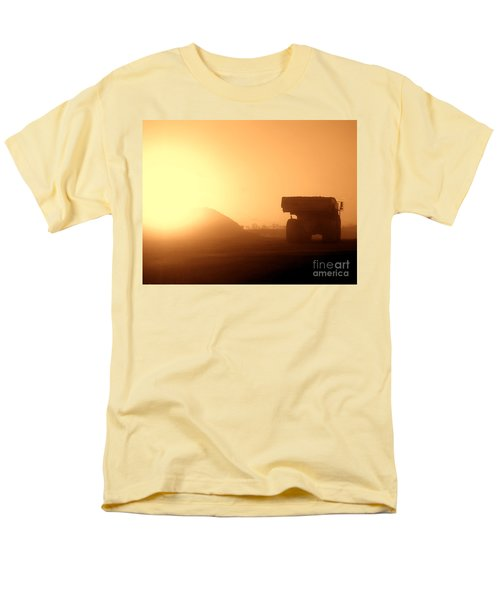 Sunset Truck T-Shirt by Olivier Le Queinec