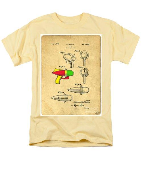 Toy Ray Gun Patent II T-Shirt by Edward Fielding