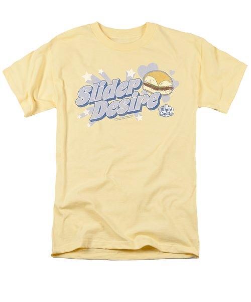 White Castle - Slider Desire Men's T-Shirt  (Regular Fit) by Brand A