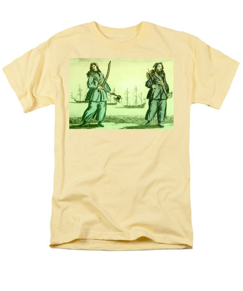 Anne Bonny And Mary Read, 18th Century T-Shirt by Photo Researchers