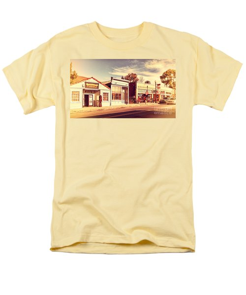 Historic Niles District in California Near Fremont . Main Street . Niles Boulevard . 7D10676 T-Shirt by Wingsdomain Art and Photography