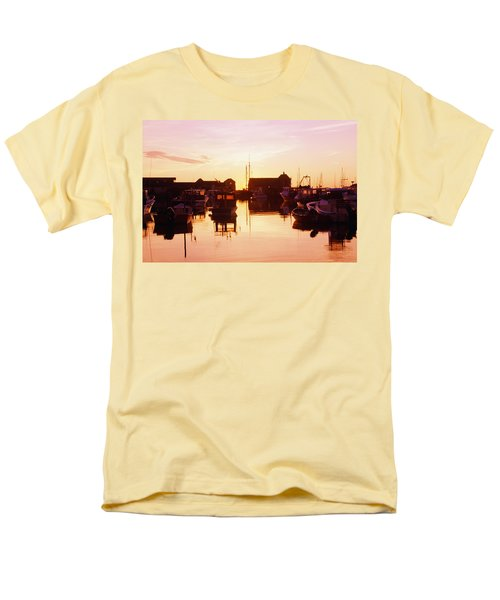 Harbor At Sunrise T-Shirt by Bilderbuch