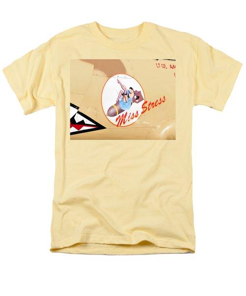 Miss Stress Men's T-Shirt  (Regular Fit) by David Lee Thompson