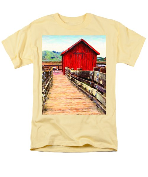 Old Red Shack T-Shirt by Wingsdomain Art and Photography