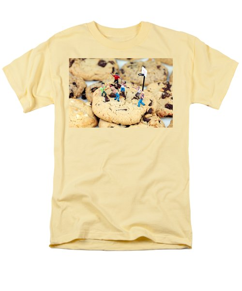Playing basketball on cookies II T-Shirt by Paul Ge