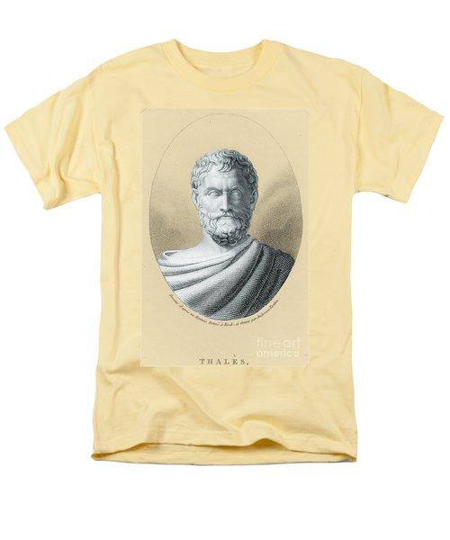 Thales, Ancient Greek Philosopher T-Shirt by Photo Researchers, Inc.