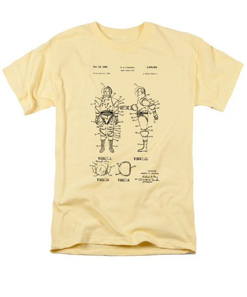 1968 Hard Space Suit Patent Artwork - Vintage T-Shirt by Nikki Marie Smith