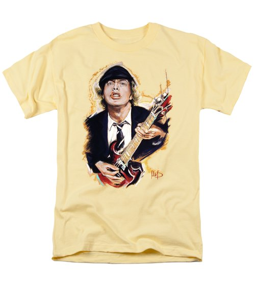 Angus Young Men's T-Shirt  (Regular Fit) by Melanie D