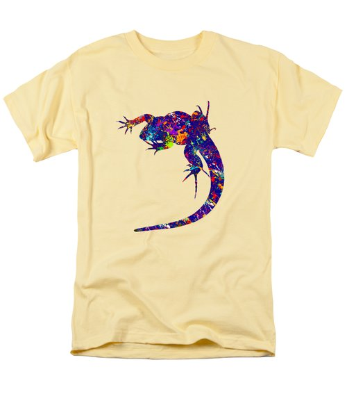 Colourful Lizard -2- Men's T-Shirt  (Regular Fit) by Bamalam  Photography
