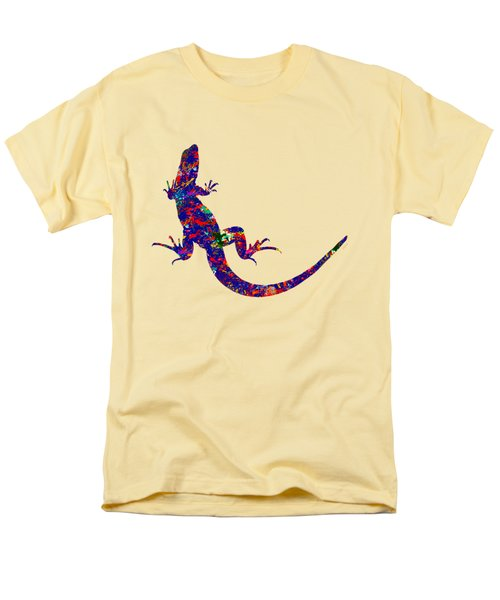 Colourful Lizard Men's T-Shirt  (Regular Fit) by Bamalam  Photography