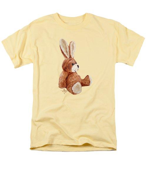 Cuddly Rabbit Men's T-Shirt  (Regular Fit) by Angeles M Pomata