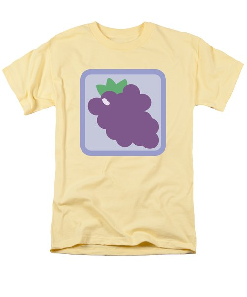 Cute Grapes Men's T-Shirt  (Regular Fit) by Caroline Goh
