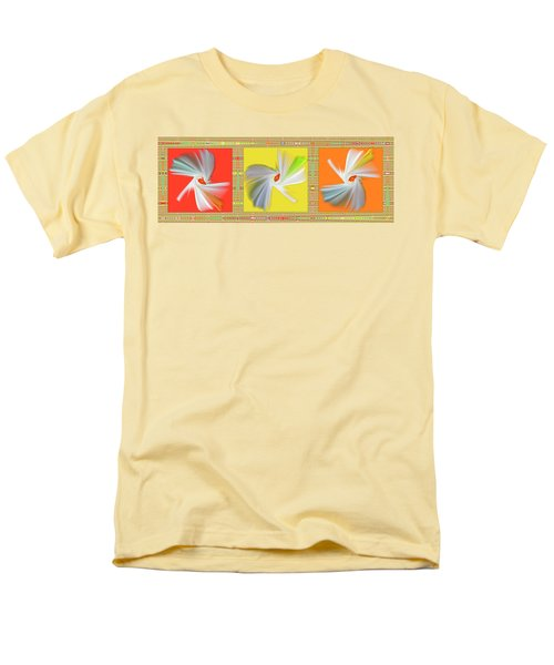 Dancing Flower Trio T-Shirt by Ben and Raisa Gertsberg