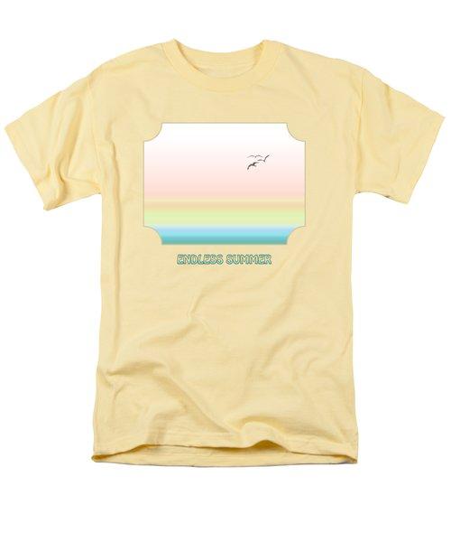 Endless Summer - Yellow Men's T-Shirt  (Regular Fit) by Gill Billington