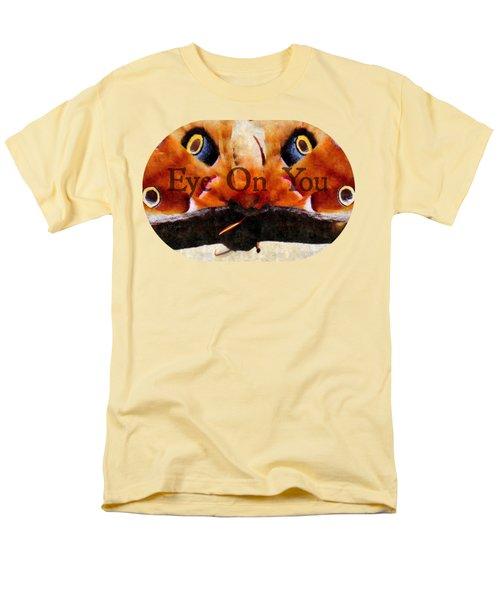 Eye On You - Silk Paint Men's T-Shirt  (Regular Fit) by Anita Faye