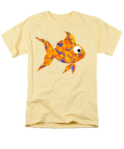 Fancy Goldfish Men's T-Shirt  (Regular Fit) by Christina Rollo