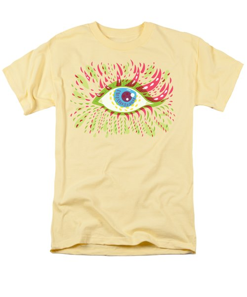 From Looking Psychedelic Eye Men's T-Shirt  (Regular Fit) by Boriana Giormova