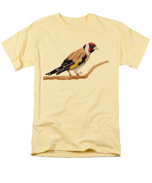 Goldfinch Men's T-Shirt  (Regular Fit) by Angeles M Pomata