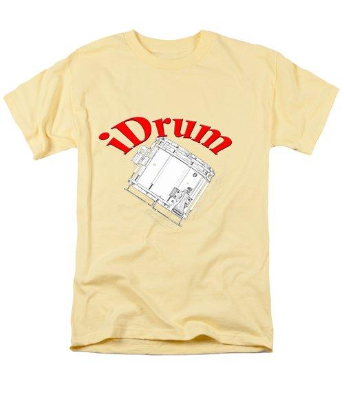 iDrum Men's T-Shirt  (Regular Fit) by M K  Miller