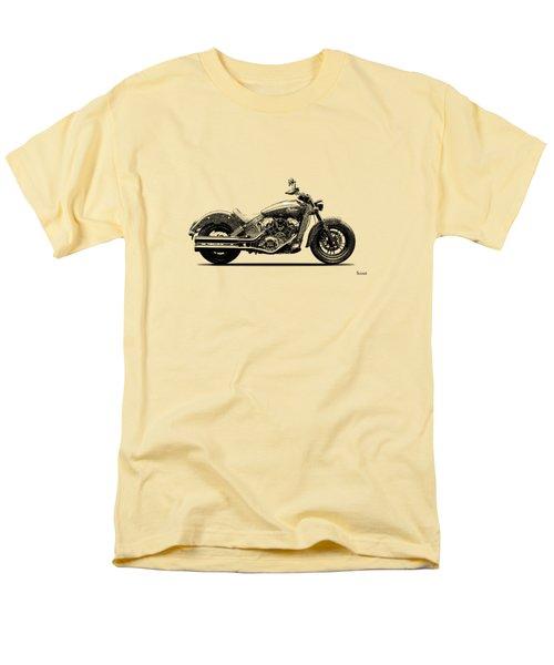 Indian Scout 2015 Men's T-Shirt  (Regular Fit) by Mark Rogan