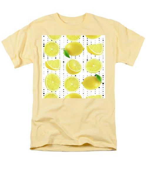 Lemon  Men's T-Shirt  (Regular Fit) by Mark Ashkenazi