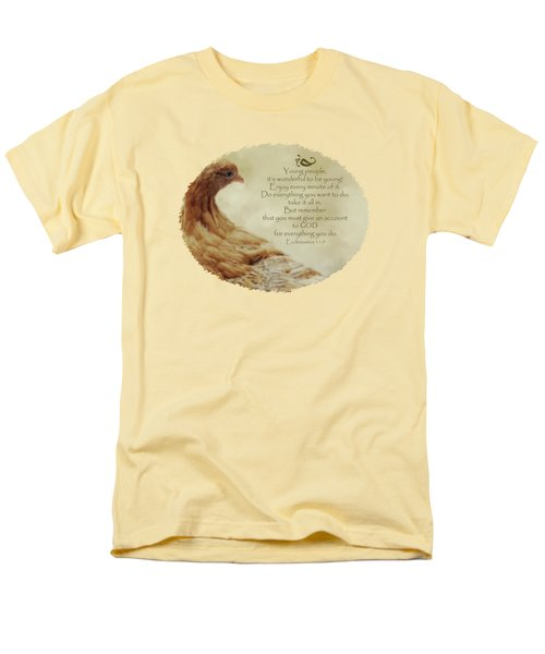 Lovely Lace - Verse Men's T-Shirt  (Regular Fit) by Anita Faye