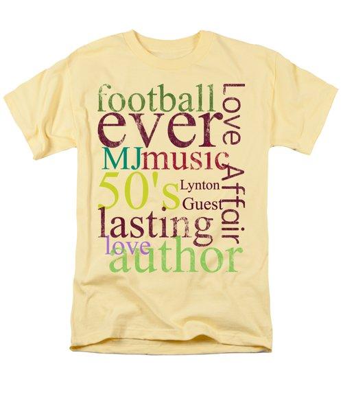 Lynton Guest Men's T-Shirt  (Regular Fit) by D Francis
