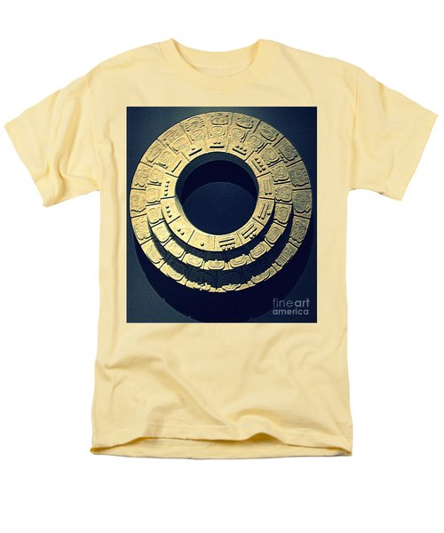 National Museum Of The American Indian 10 Men's T-Shirt  (Regular Fit) by Randall Weidner