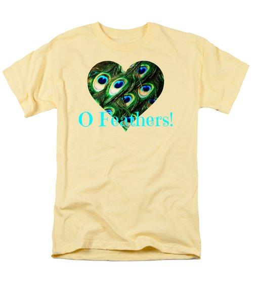 O Feathers Men's T-Shirt  (Regular Fit) by Anita Faye