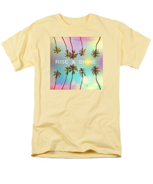 Palm Trees Men's T-Shirt  (Regular Fit) by Mark Ashkenazi
