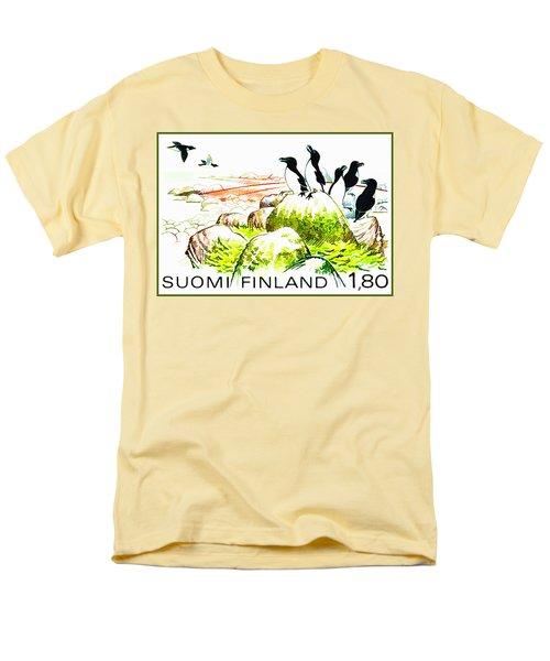 Razorbills Men's T-Shirt  (Regular Fit) by Lanjee Chee