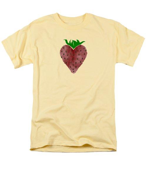 Strawberries Men's T-Shirt  (Regular Fit) by Kathleen Sartoris