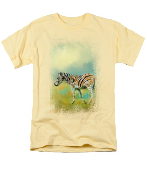 Summer Zebra 2 Men's T-Shirt  (Regular Fit) by Jai Johnson