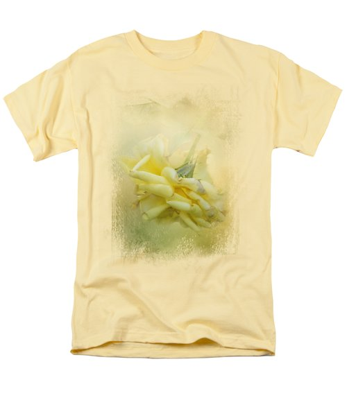 The Last Yellow Rose Men's T-Shirt  (Regular Fit) by Jai Johnson