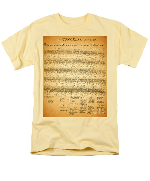The United States Declaration of Independence T-Shirt by Wingsdomain Art and Photography