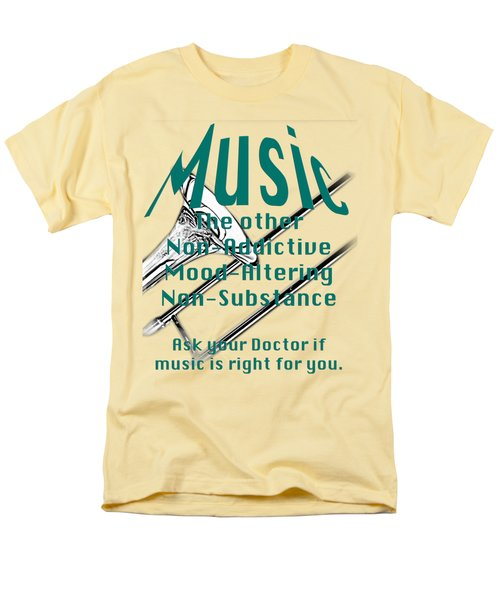 Trombone Music Is Right For You 5495.02 Men's T-Shirt  (Regular Fit) by M K  Miller