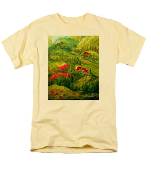 Tuscany at Dawn T-Shirt by Eloise Schneider