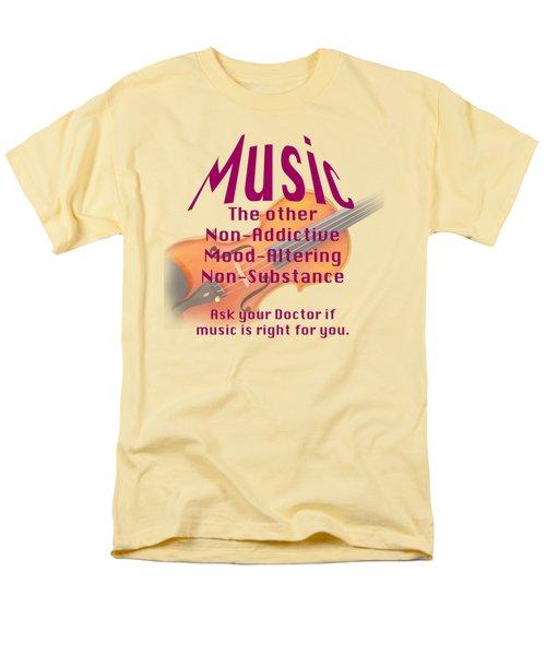 Violin Or Viola Music Is Right For You 5499.02 Men's T-Shirt  (Regular Fit) by M K  Miller