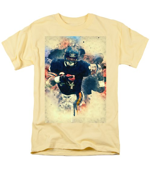 Walter Payton Men's T-Shirt  (Regular Fit) by Taylan Apukovska