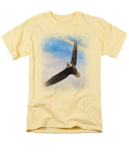 When My Wings Touch The Rainbow Men's T-Shirt  (Regular Fit) by Jai Johnson