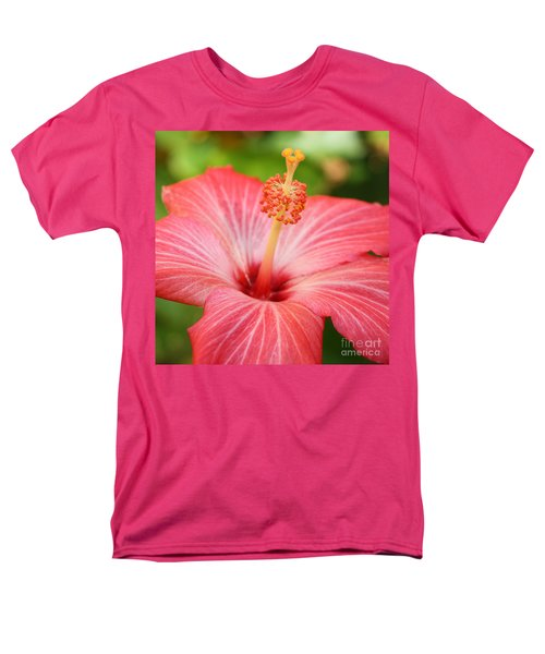 Hibiscus - Square T-Shirt by Carol Groenen