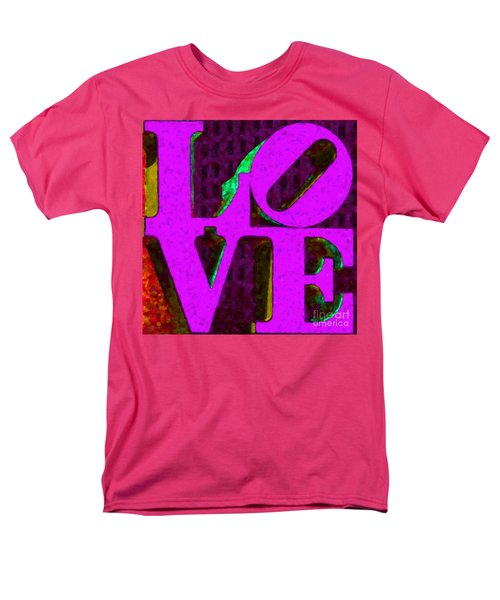 Philadelphia LOVE - Painterly v2 T-Shirt by Wingsdomain Art and Photography