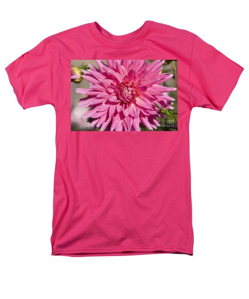 Pink Dahlia II T-Shirt by Peter French