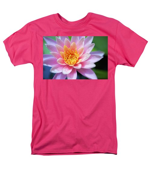 Pink Water Lily T-Shirt by Kicka Witte