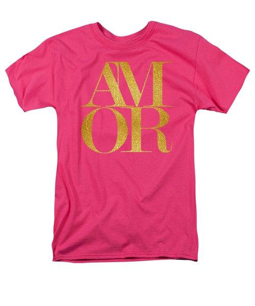 Amor Men's T-Shirt  (Regular Fit) by Liesl Marelli