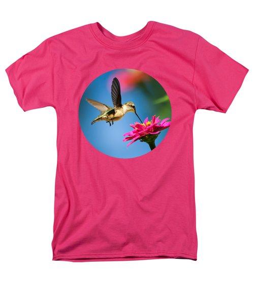 Art of Hummingbird Flight T-Shirt by Christina Rollo