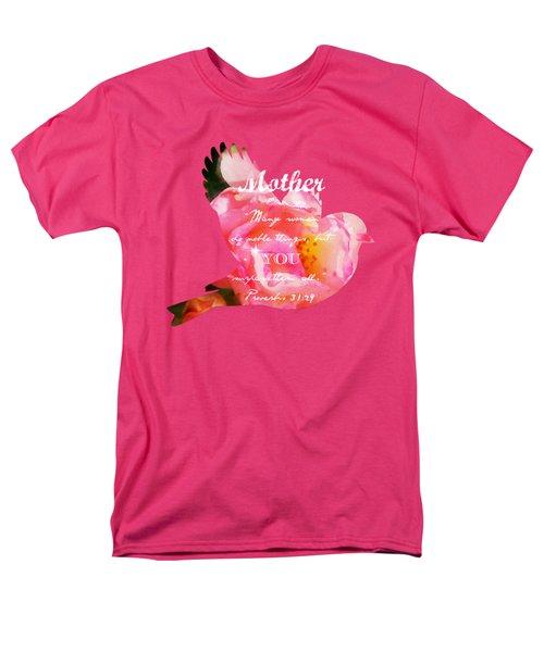 Roses - Verse Men's T-Shirt  (Regular Fit) by Anita Faye