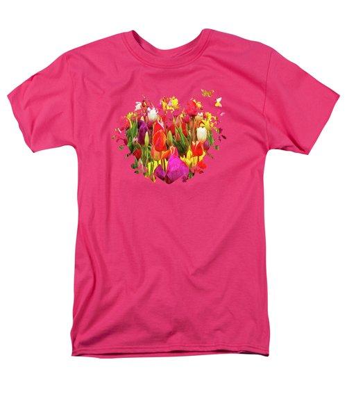 Field Of Tulips Men's T-Shirt  (Regular Fit) by Thom Zehrfeld