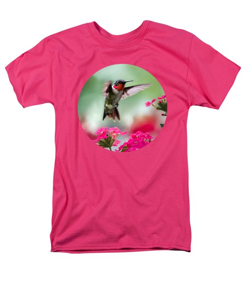 Ruby Garden Jewel T-Shirt by Christina Rollo