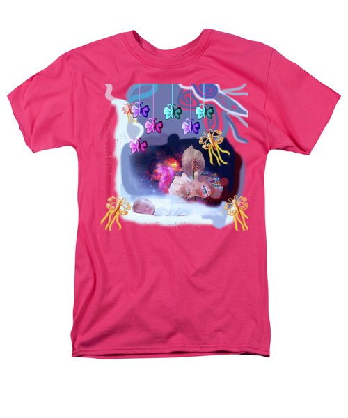 The Real Little Baby Dream Men's T-Shirt  (Regular Fit) by Artist Nandika  Dutt